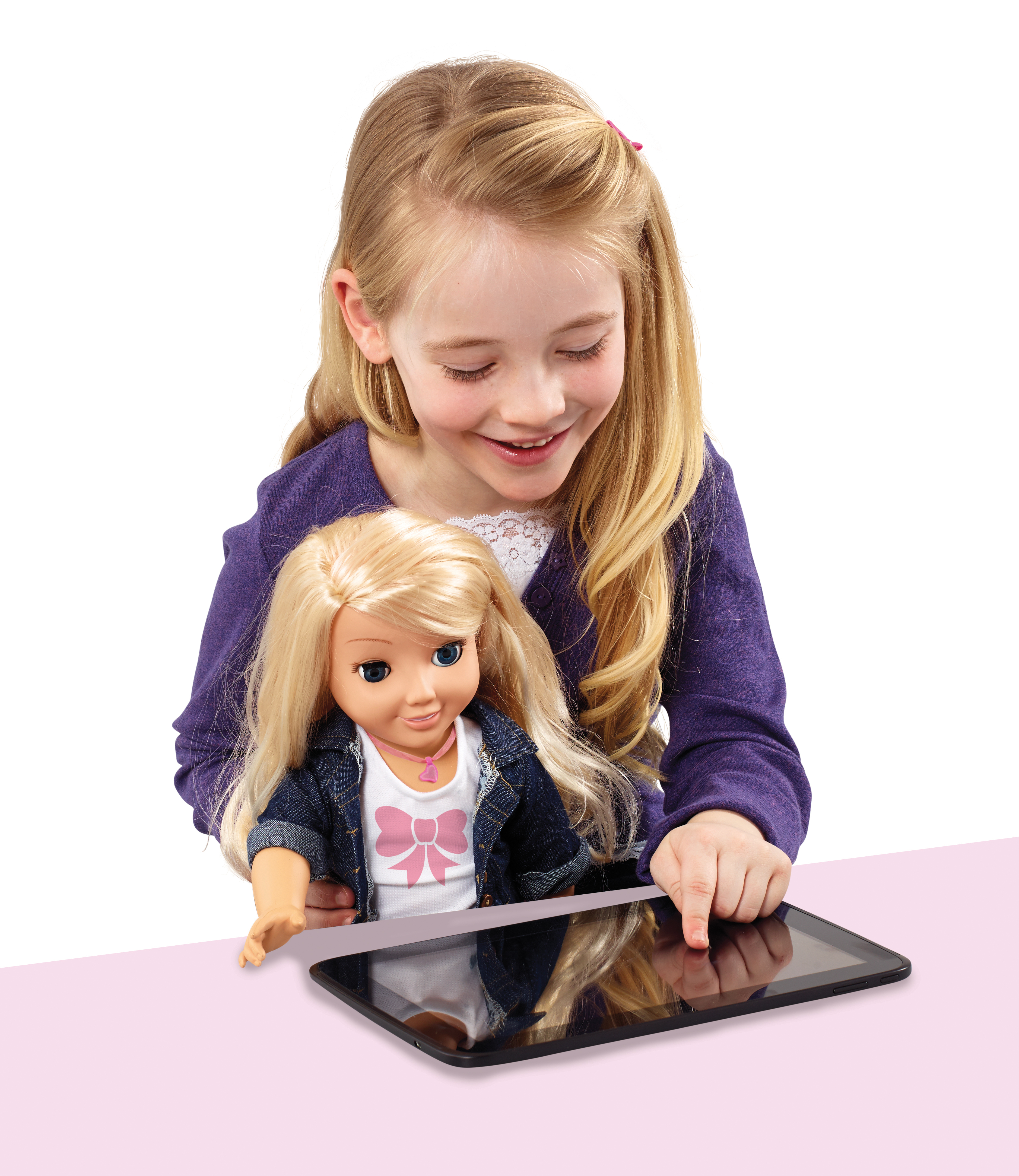 PR launch of the world's first internet-connected doll